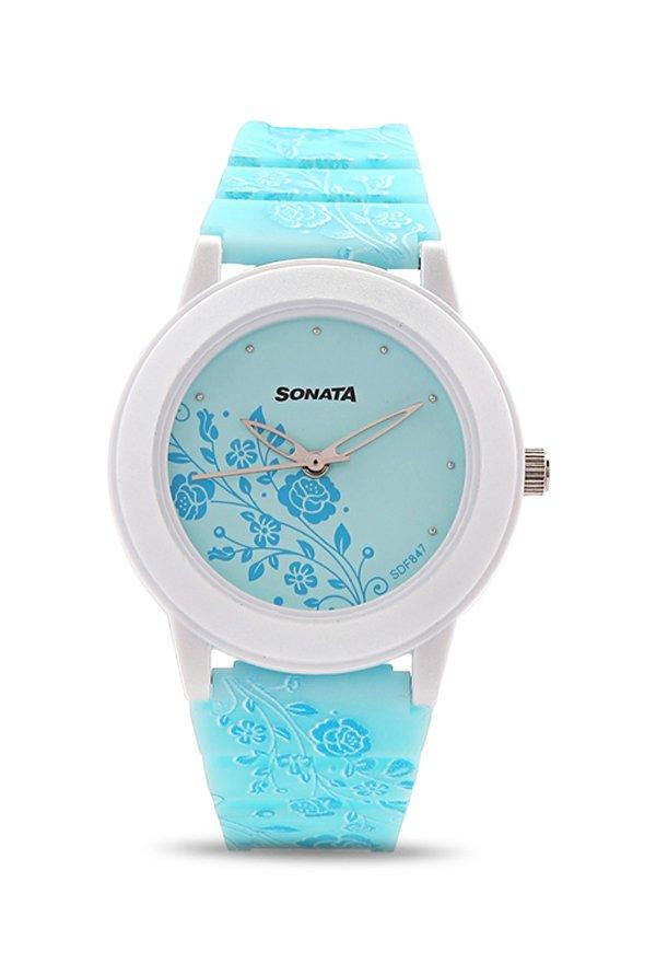Sonata 8992PP06 Analog Multi Colour Dial Women's Watch