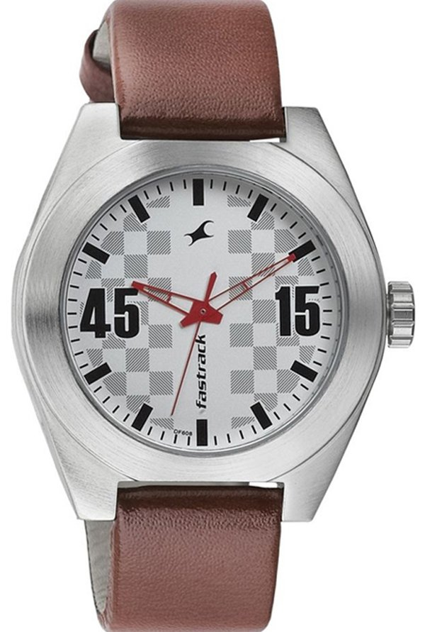 Fastrack NJ3110SL01 White Analogue Men's Watch (NJ3110SL01)