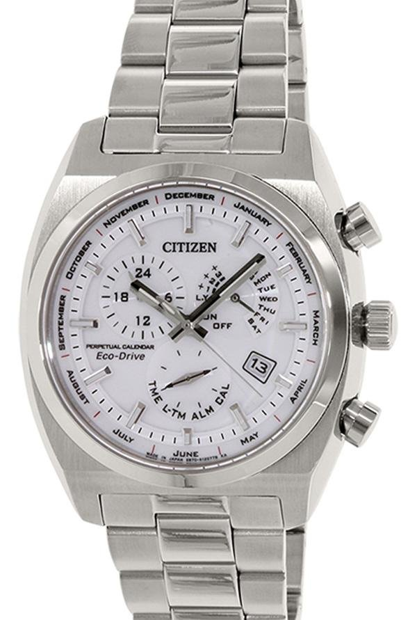 Citizen BL8130-59A Analog White Dial Men's Watch