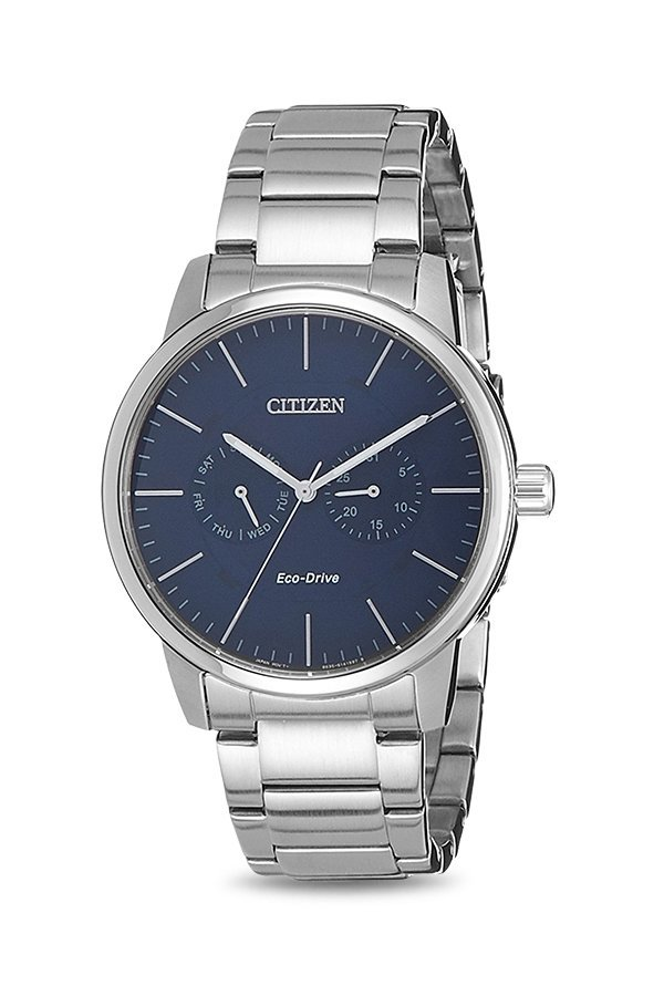 Citizen Eco-Drive AO9040-52E Analog Blue Dial Men's Watch (AO9040-52E)