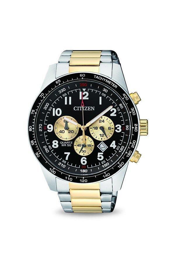 Citizen AN8164-51E Analog Black Dial Men's Watch
