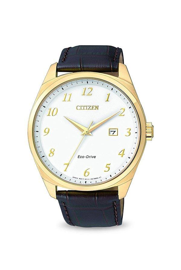 Citizen BM7322-06A Analog White Dial Men's Watch (BM7322-06A)