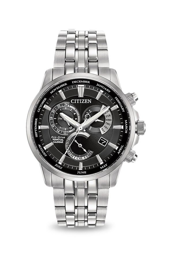 Citizen BL8140-80E Analog Black Dial Men's Watch