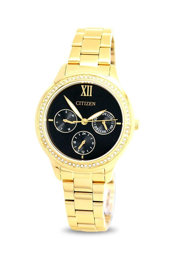Citizen ED8152-58E Analog Black Dial Women's Watch