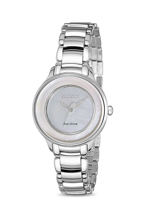 Citizen EM0380-57D Analog Mother of Pearl Dial Women's Watch (EM0380-57D)