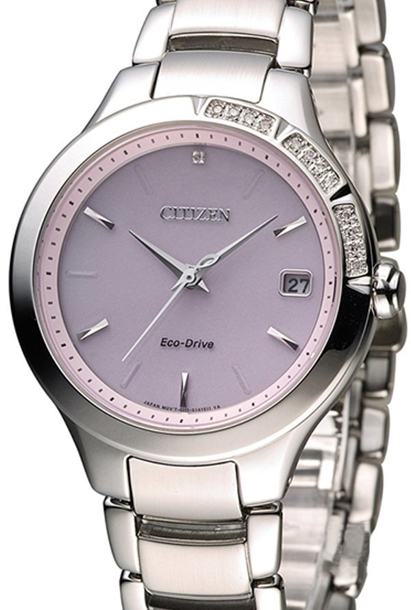 Citizen EO1150-59W Analog Purple Dial Women's Watch