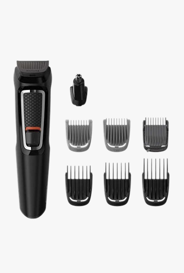 Philips MG3730/15 8 in 1 Multi Purpose Grooming Kit, Black