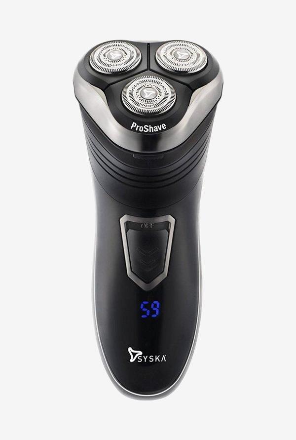 Syska ProShave SH986 Rotary Shaver Black