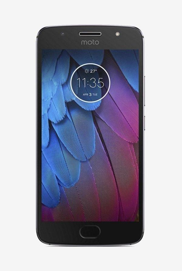 Motorola Moto G5s (Motorola XT1795) 32GB Lunar Grey Mobile