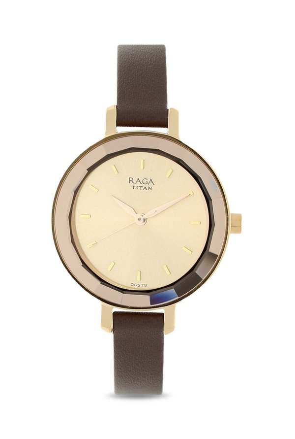 8254778c22a Titan Raga 2575WL01 Watch Online Buy at lowest Price in India (Viva Analog  Rose Gold Dial Women s Watch) Offers   Coupons