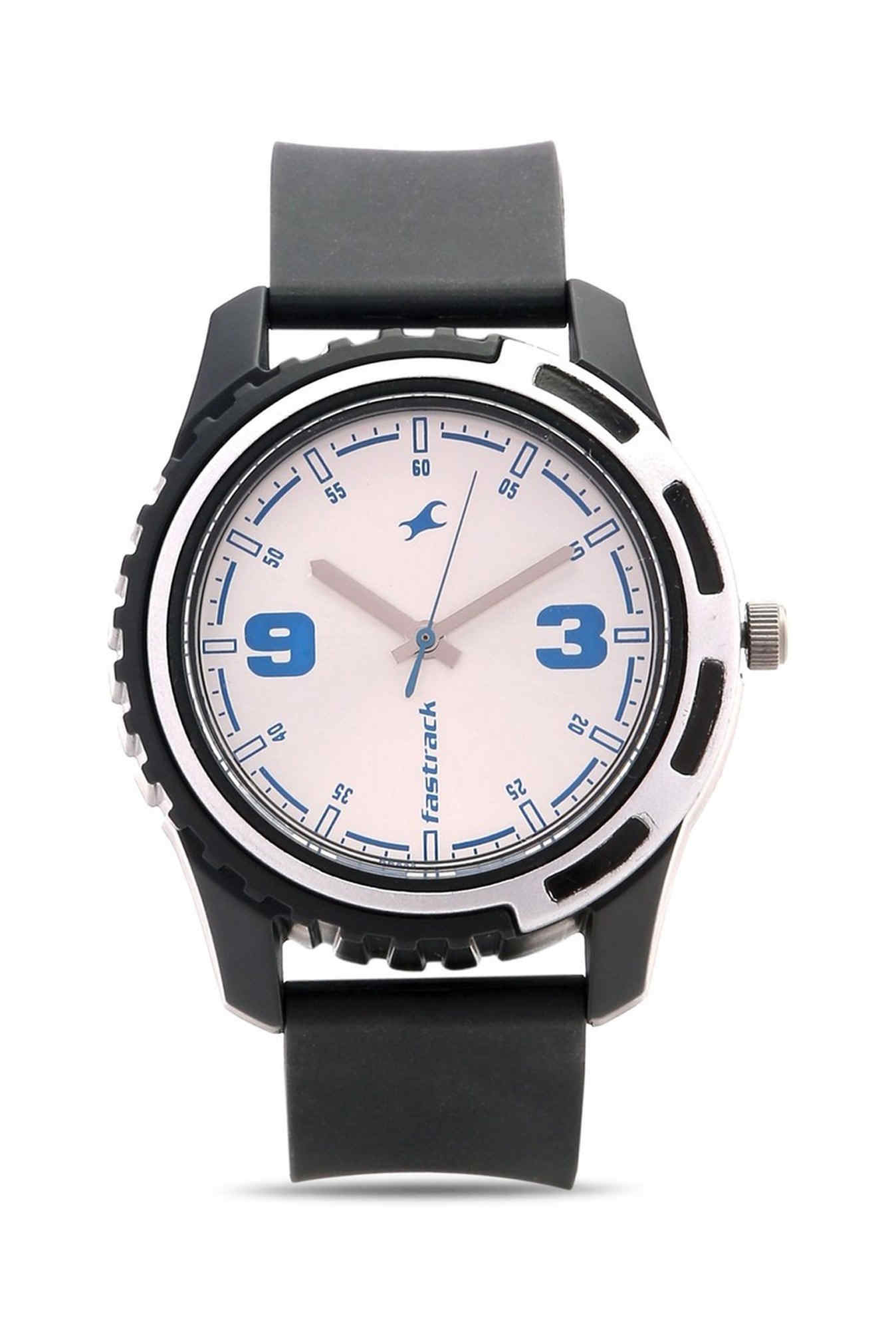 Fastrack 3114PP02 Casual Analog Silver Dial Men's Watch (3114PP02)