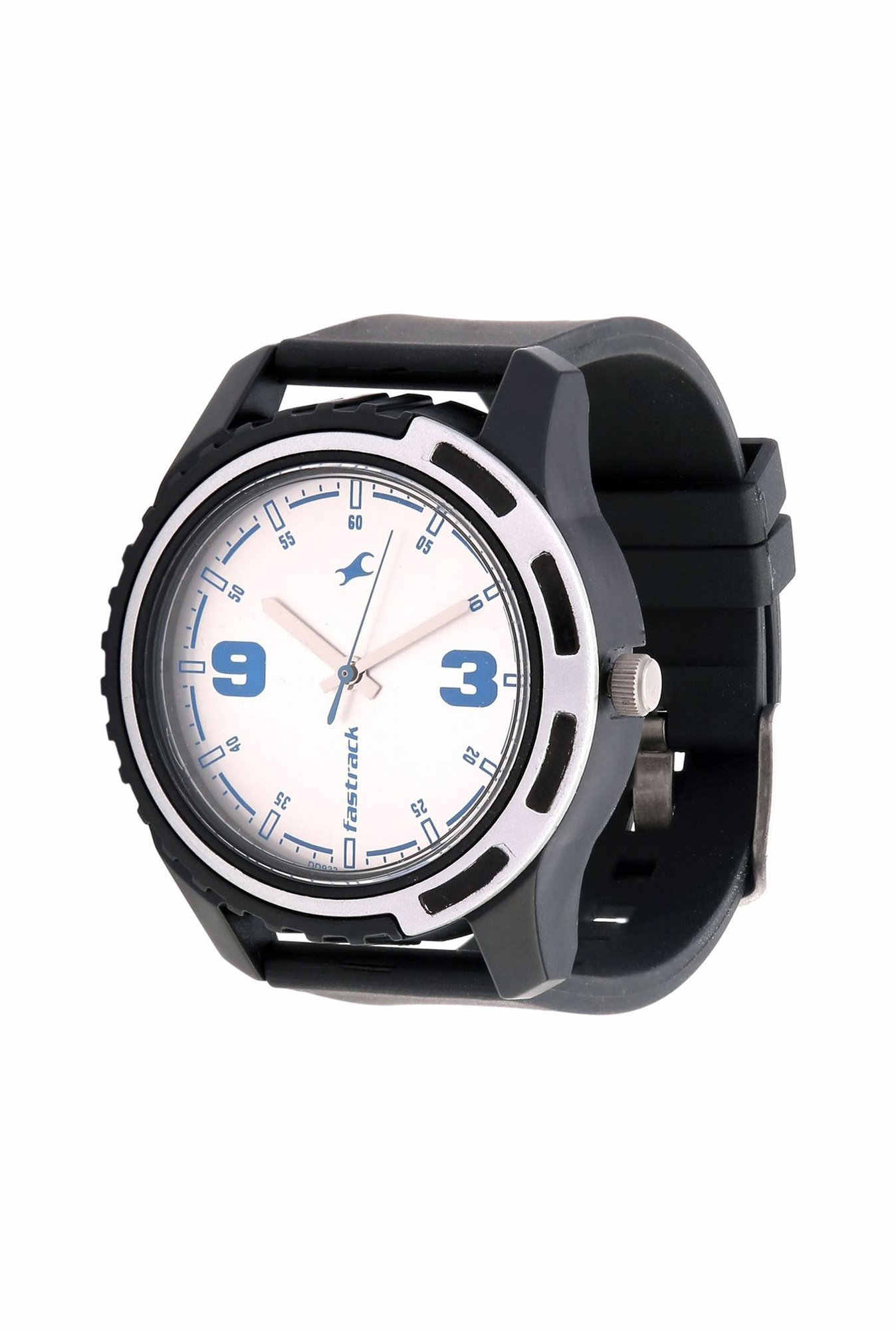 Fastrack 3114PP02 Casual Analog Silver Dial Men's Watch