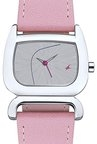 Fastrack NJ6091SL01C Silver Toned Analogue Women's Watch