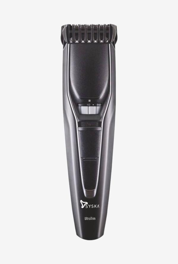 Syska HT300 Hair and Beard Trimmer Black