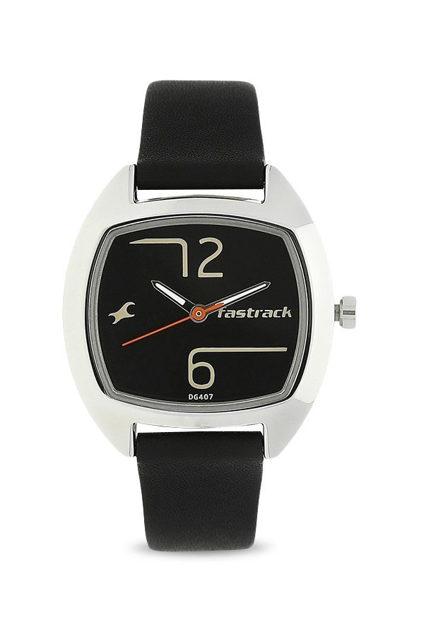 Fastrack 6162SL01 Analog Black Dial Women's Watch