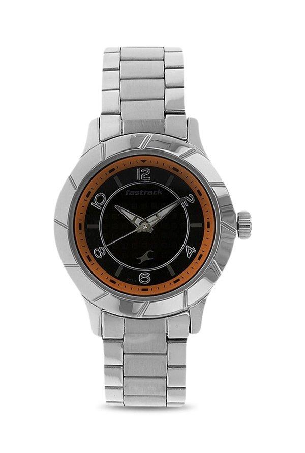 Fastrack 6139SM01 Analog Black Dial Women's Watch (6139SM01)
