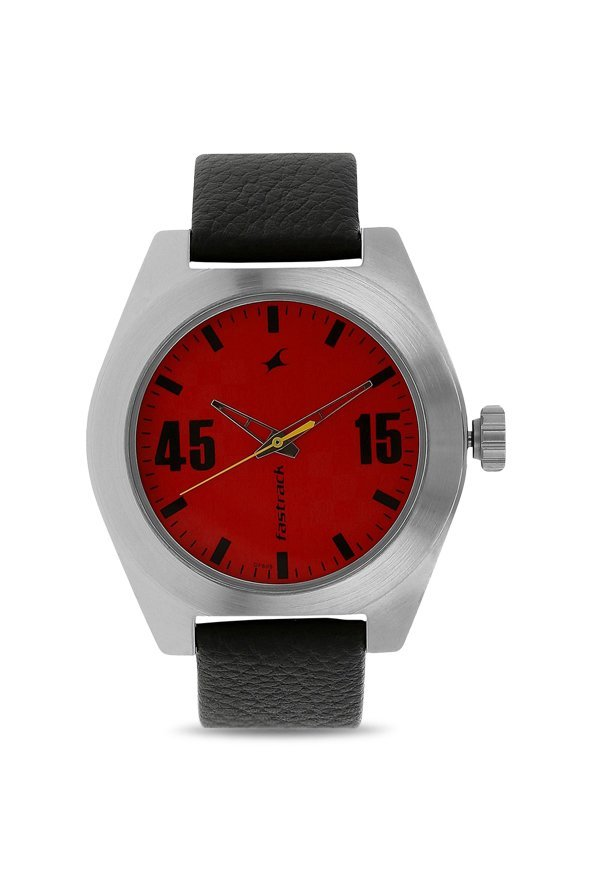 Fastrack NK3110SL02 Red Analogue Men's Watch (NK3110SL02)
