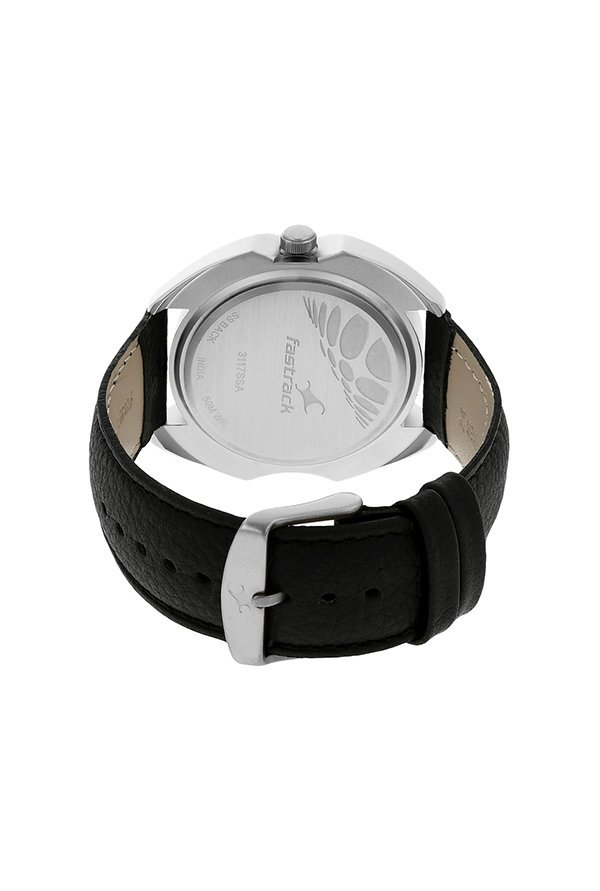 Fastrack 3117SL02 Analog Grey Dial Men's Watch