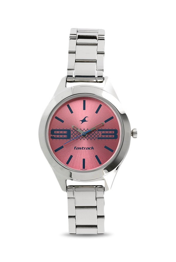 Fastrack 6153SM02 Women Pink Analogue Watch