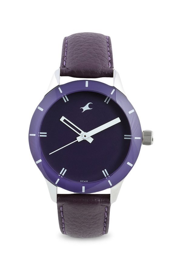 Fastrack NJ6078SL05C Purple Analogue Women's Watch (NJ6078SL05C)