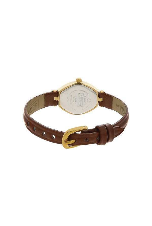 Sonata 8069YL03 Analog Brown Dial Women's Watch (8069YL03)