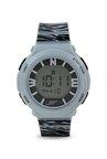 Sonata 87016PP03 Ocean Series Women Grey Printed Digital Watch