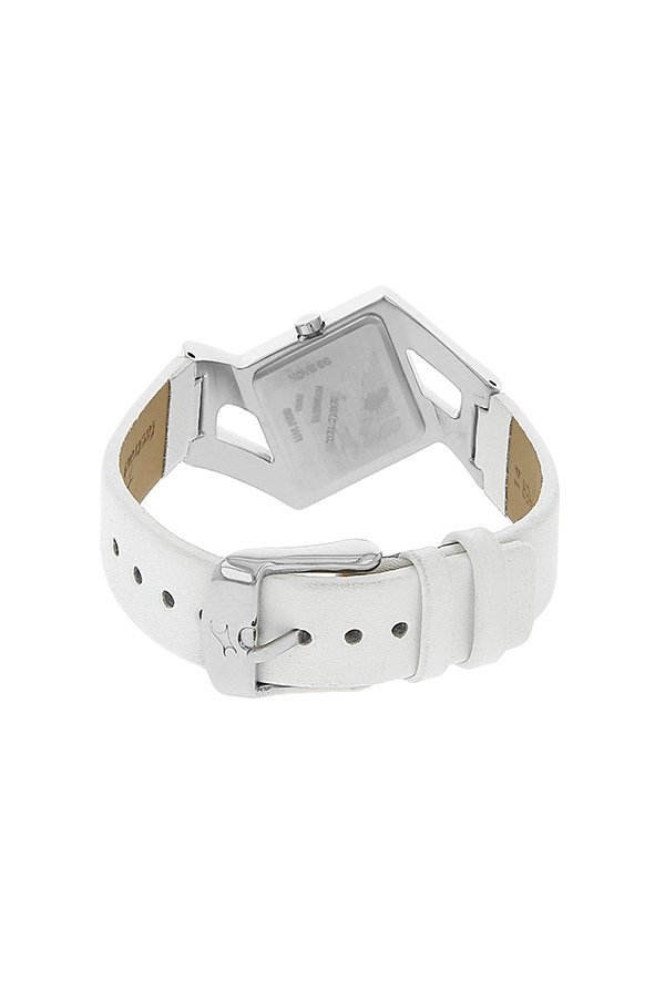 Fastrack NE6035SL01 Analog White Dial Women's Watch