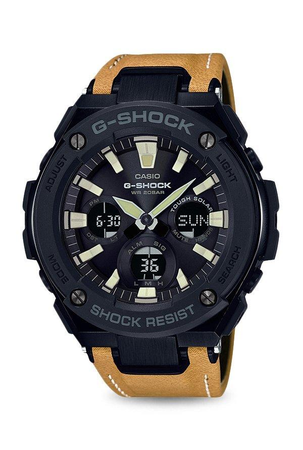 Casio G-Shock GST-S120L-1BDR (G736) Analog Digital Black Dial Men's Watch