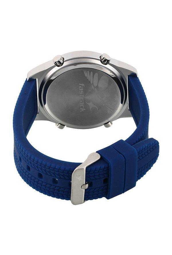 Fastrack 38033SP02 Digital Grey Dial Men's Watch
