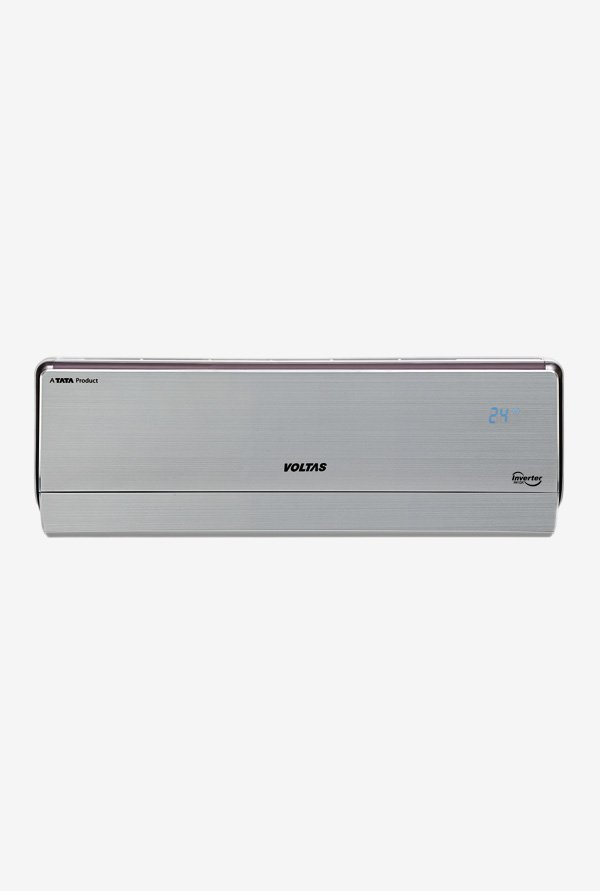 16449394631 32% OFF Voltas 125VH 1 Ton 5 Star Bee Rating 2018 Crown AW Copper Inverter  Split AC