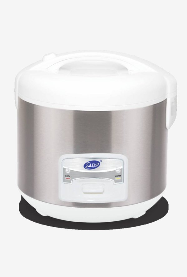 Glen GL 3058 350 W Electric Rice Cooker, 1 L (Grey)