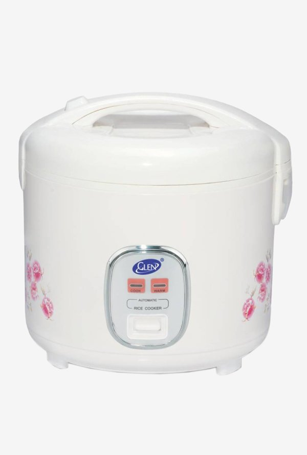 Glen GL 3055 Deluxe 650 W Electric Rice Cooker, 1.8 L
