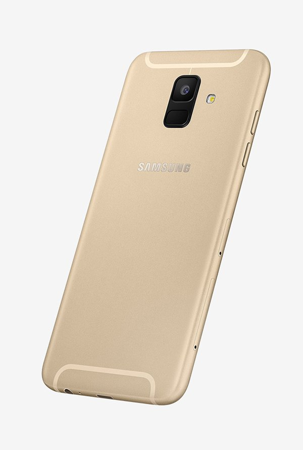 Samsung Galaxy A6 (Samsung SM-A600GZDHINS) 32GB Gold Mobile
