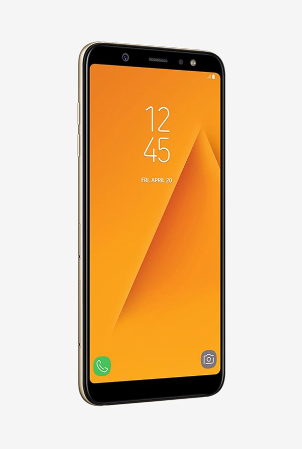 Samsung Galaxy A6 Plus (Samsung SM-A600GZDHINS) 64GB Gold Mobile