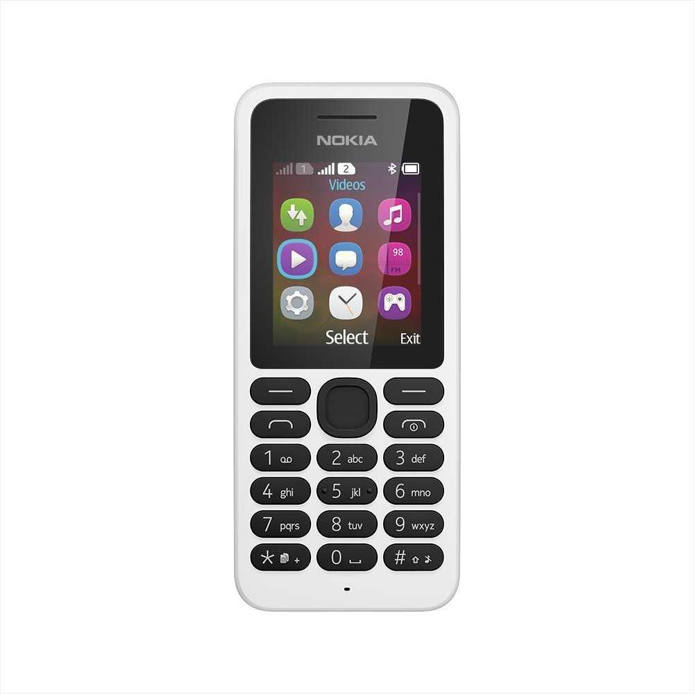 Nokia 130 White Mobile