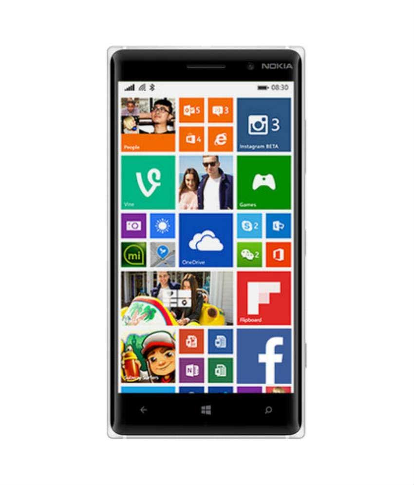 Nokia Lumia 830 White Mobile
