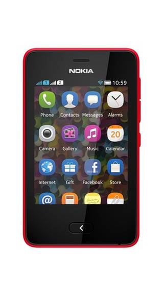 Nokia Asha 501 Red Mobile