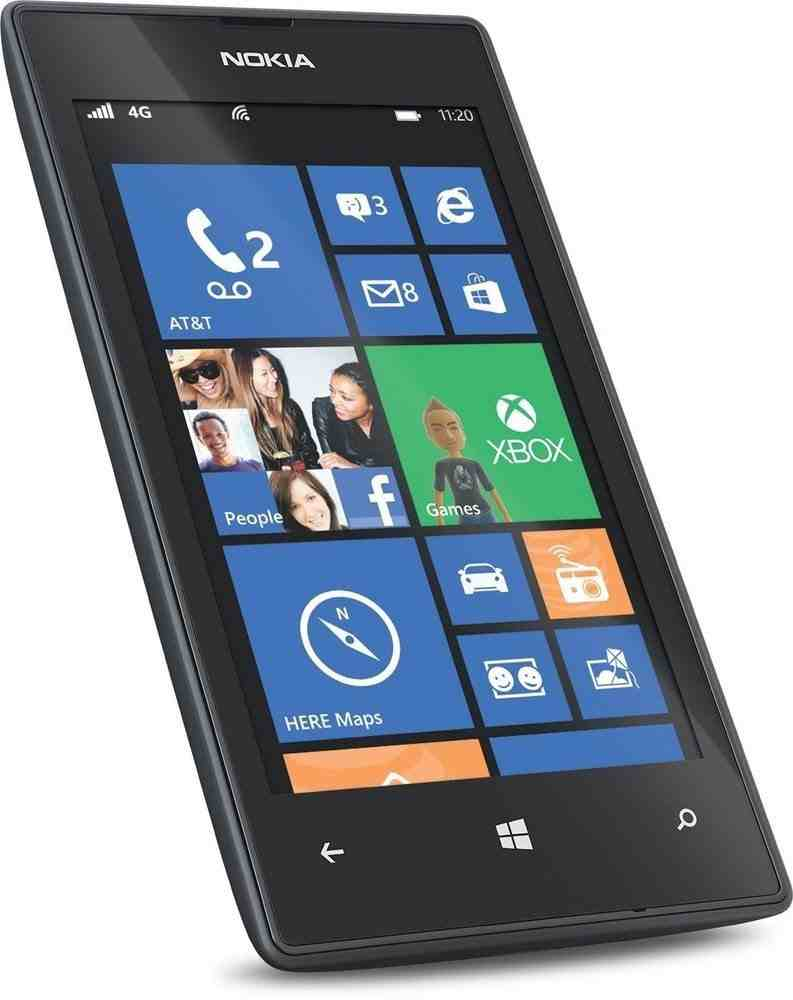 Nokia Lumia 520 Windows Black Mobile