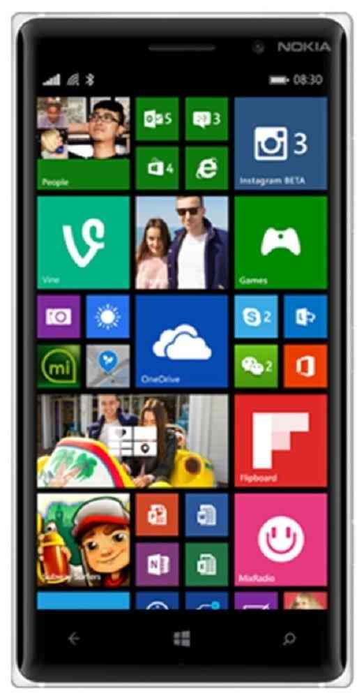 Nokia Lumia 830 16GB White Mobile