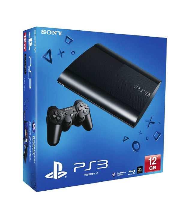 Sony Playstation 3 Slim 12 GB (Black)