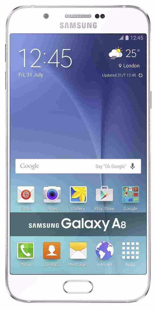 Samsung Galaxy A8 SM-A8QQIZDEINS 4G 32GB White Mobile