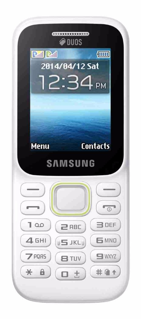 Samsung Guru Music 2 SM-B310E White Mobile