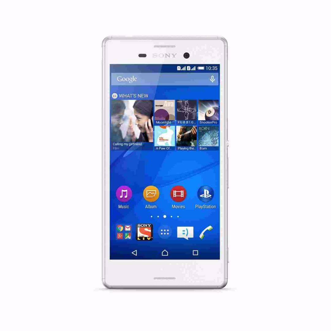 Sony Xperia M4 Aqua Dual (Sony Xperia E2363) 16GB White Mobile