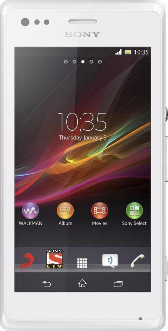 Sony Xperia M Dual 4 GB White Mobile