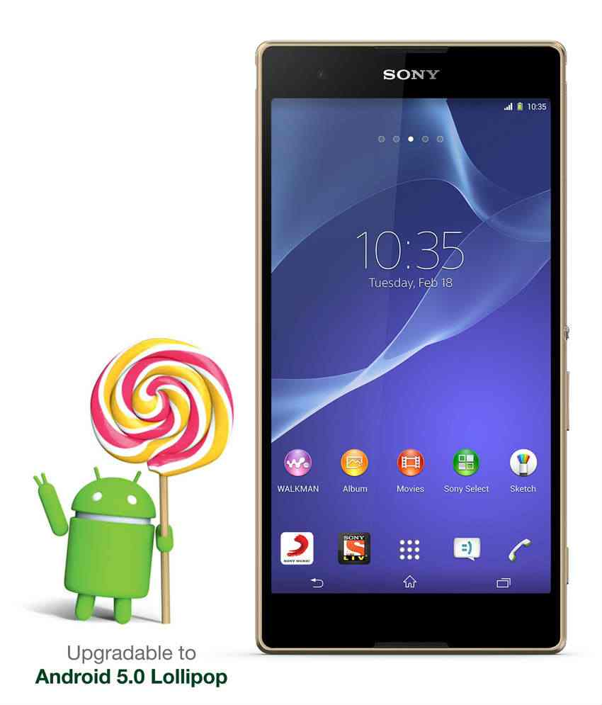 Sony Xperia T2 Ultra Gold Mobile