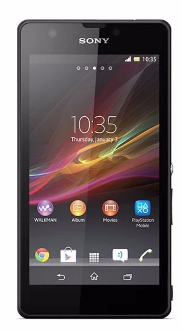 Sony Xperia ZR C5502 Black Mobile