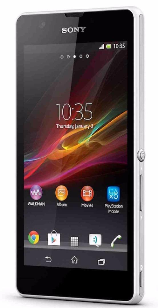 Sony Xperia ZR C5502 White Mobile