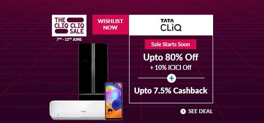 Tata CLiQ Offers Today