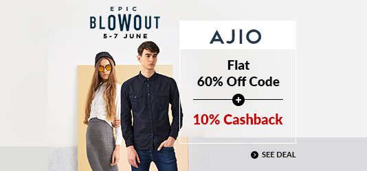 Ajio Offers Today
