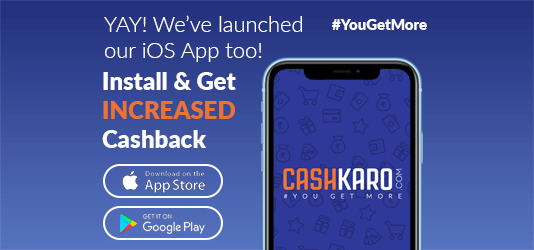 CashKaro App Offers Today